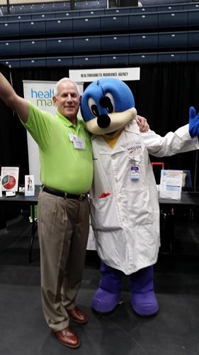 Health Fair with Dr. WellBee