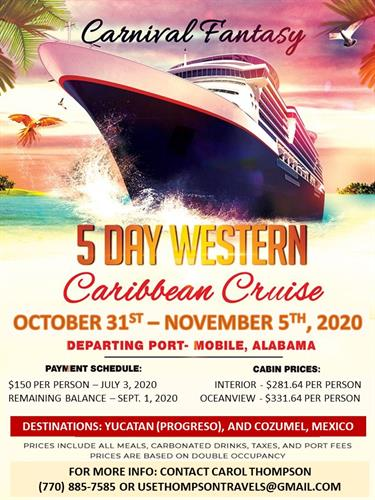 2020 Friends & Family Cruise
