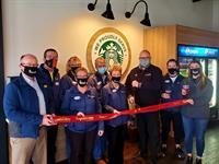 Knight & Day Coffee hosts Ribbon Cutting
