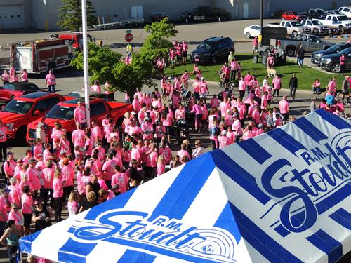 We're home to the annual Running of the Pink 5K Walk/Run 10K Run
