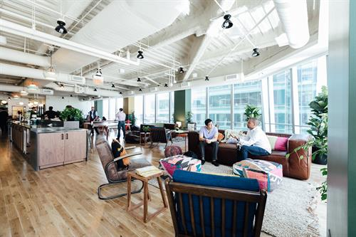 Our office in WeWork California Street