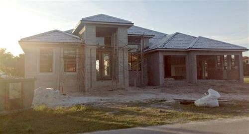 Typical Home Construction in Punta Gorda