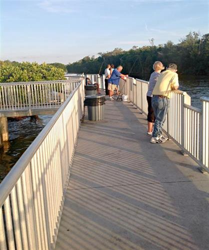 Fishing Pier at Ponce de Leon Park