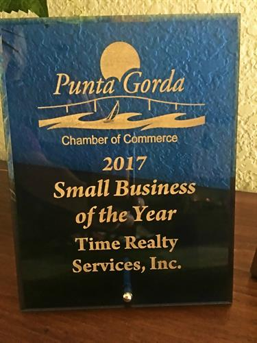 2017 Punta Gorda Chamber - Small Business of the Year