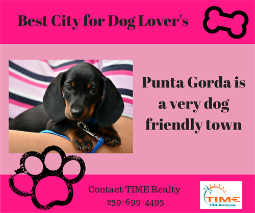 Punta Gorda is a pet friendly city