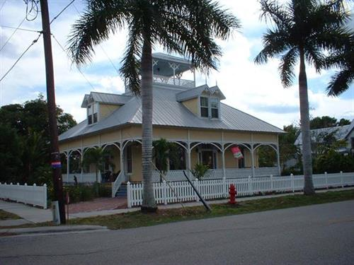 One of the many beautiful homes on Retta Esplanade in the Historical District of Punta Gorda