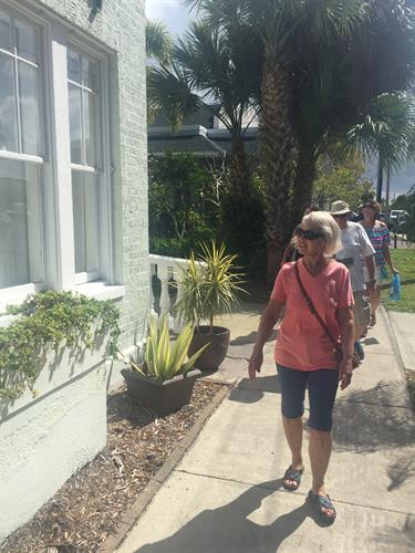 Walk the streets of historic Punta Gorda
