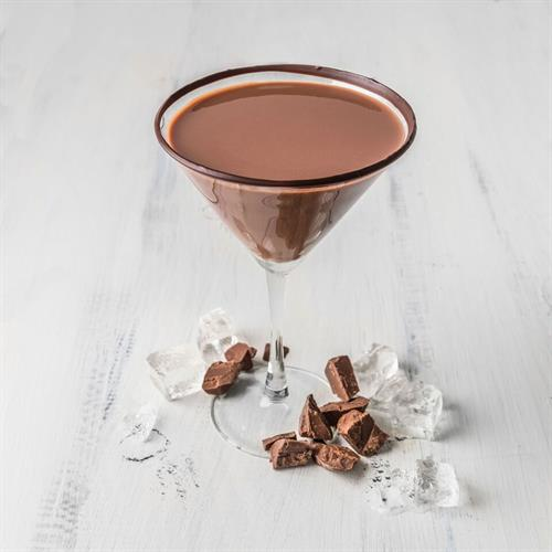 Shake up a Chocolate martini infused with real Dove chocolate