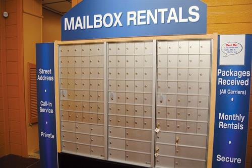 Private Mailbox Rentals