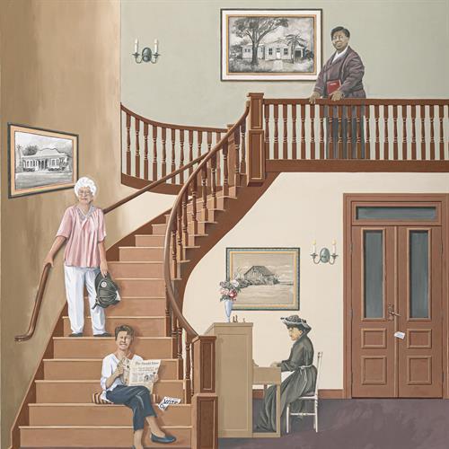 """""""Ladies Remembered"""" Mural"""