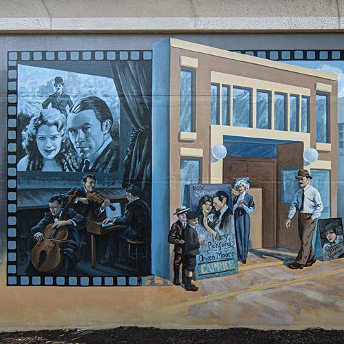 """Movie Memories"" Mural"