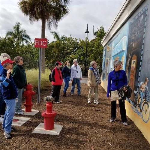 Walking Tours of the Punta Gorda Murals