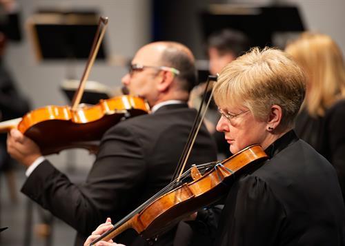 Punta Gorda Symphony Musicians. Photo by Jerry Beard.