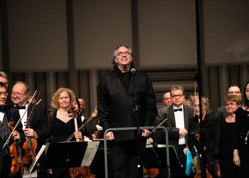 Maestro Raffaele Ponti. Photo by Jerry Beard.