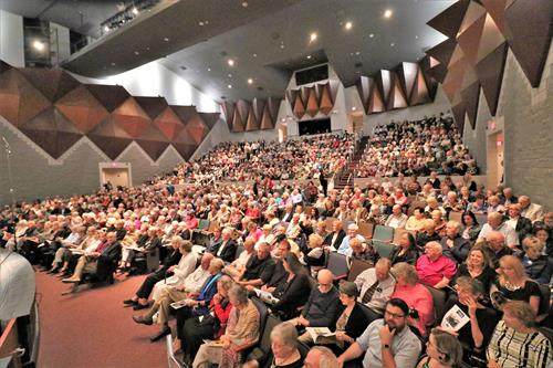 PGSymphony hosts a full-house at the Charlotte Performing Arts Center, its main performance hall.