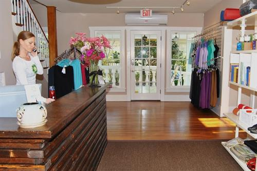 Studio boutique and lobby