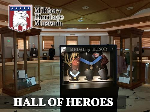 Hall of Heroes featuring the Medal of Honor Exhibit
