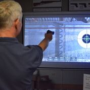 Check your markmanship at the laser range!