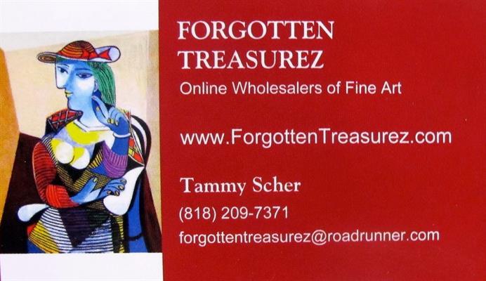 Forgotten Treasurez - Online Fine Art & Reproduction Art Dealer