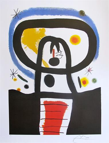 "Joan Miro ""Equinox"" Limited Edition Lithograph"