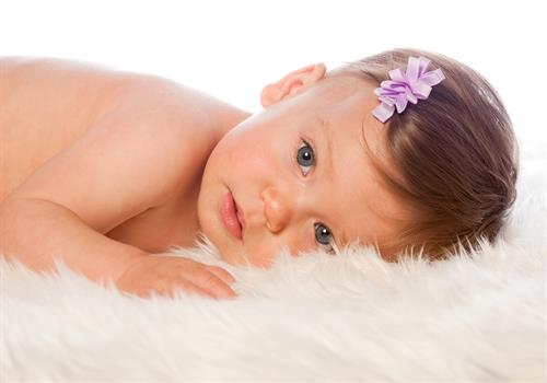 Newborn Portrait - Girl