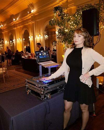 DJ Complex Lex DJing a private corporate event in Pasadena