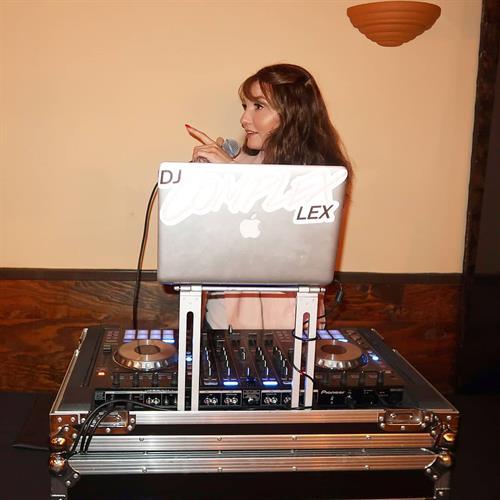 DJ Complex Lex DJing and MCing a private event in Westlake Village