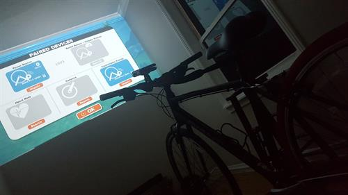 Along with access to a full service gym, hot tub and a functional training system from Movestrong, Cat's Club features a virtual indoor cycling experience through Zwift.