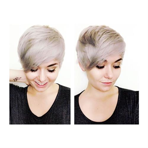 Bleach and tone by Nikki