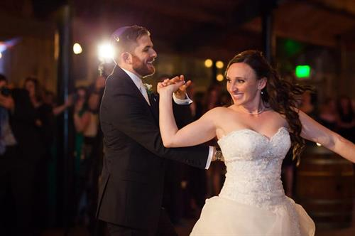 Capturing the excitement of the first dance