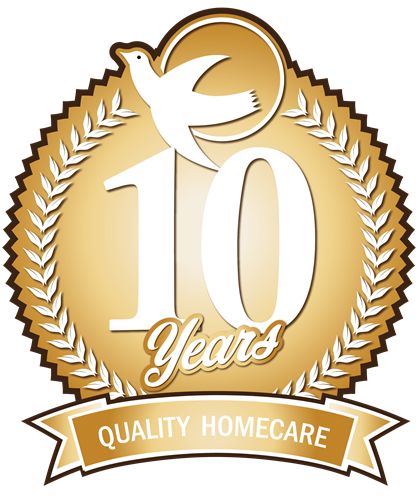 Celebrating 10 Years of Excellent Home Care Service