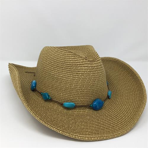 We have amazing cowboy-style hats for sun, winter, and everyday.