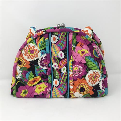 Our consigned purses often come in brand new - as this Vera Bradley did. Check our website regularly for great deals.