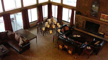 Huge clubhouse you can rent for private gatherings