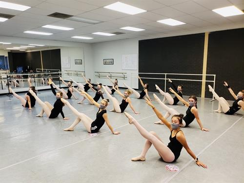 Advanced Ballet with new RDA masks!