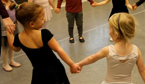 Creative Movement for ages 3-4