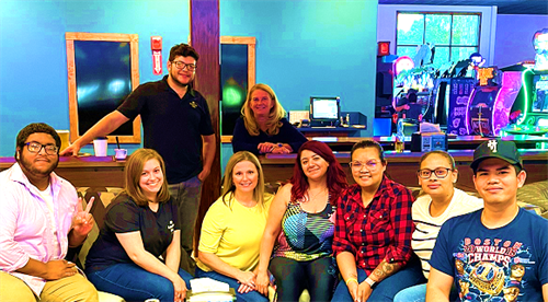 Our 910 Andover St. branch and some of the float tellers in their region had a branch outing last week at Wamesit Lanes. Looks like everyone had a fun time bowling!