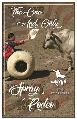 2019 Spray Rodeo Poster