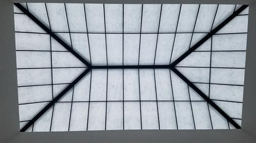 Skylight in the venue