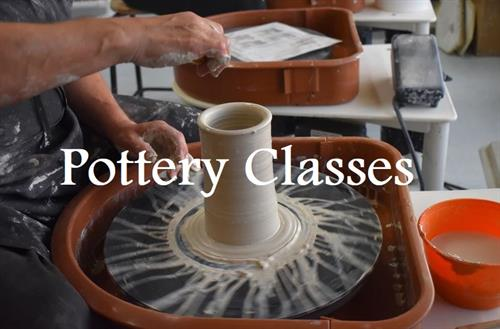 Pottery Classes available through the Bob Chisholm Community Center