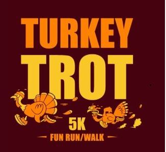 Annual Turkey Trot - 5k every Thanksgiving Day.
