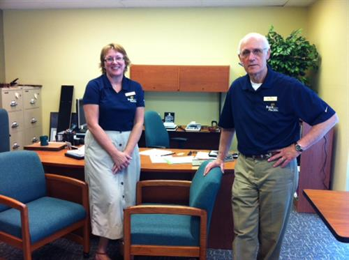 Commercial Loan Officers Becky Buck and David Clyde