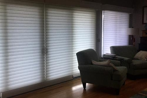 Motorized Hunter Douglas Silhouettes