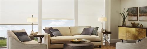 Beautiful light filtering roller shades