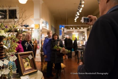 Art patrons visit time and again for the special before and after hours events
