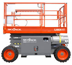 Scissor Lift, Rough Terrain or Electric