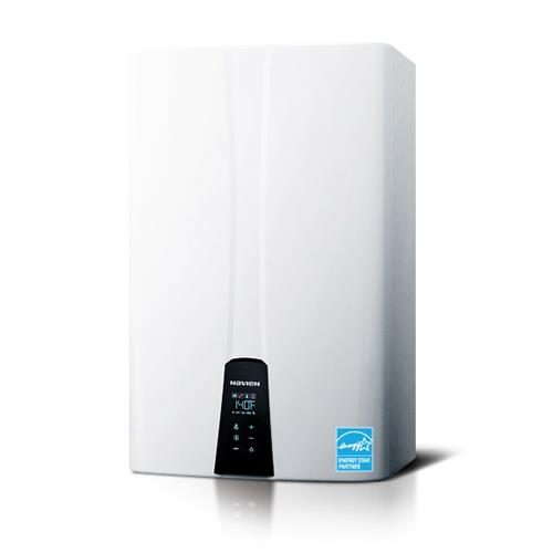 We install and service tankless, on-demand water heaters.