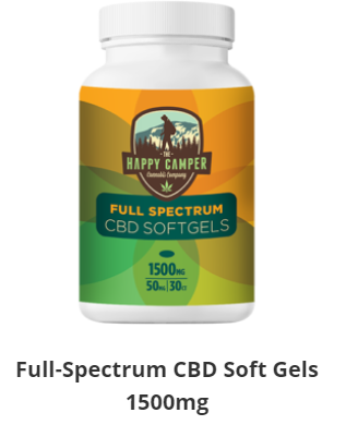 1500mg Full-Spectrum CBD Soft Gels