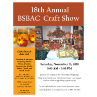 18th Annual BSBAC Craft Show