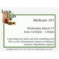Lunch and Learn - Medicare 101